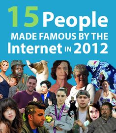 We take a look back at the Internet's breakout stars of 2012.