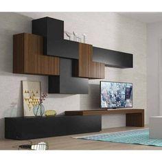 Modernes Esszimmer masintex - New Sites Tv Unit Design, Tv Wall Design, House Design, Tv Furniture, Living Room Furniture, Living Room Decor, Dining Room, Living Room Wall Units, Living Room Designs