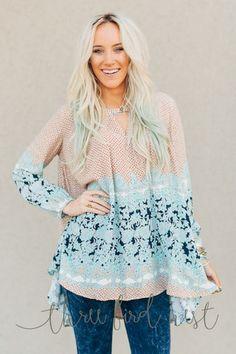 Tops + Shirts: Women's affordable clothing – Three Bird Nest | Bohemian Clothing