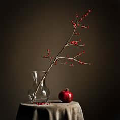 [CasaGiardino] ♛ / Touch of Red by Andrew Crocker Fruit Photography, Still Life Photography, Beauty Photography, Still Life Drawing, Still Life Art, Deco Floral, Arte Floral, Ikebana, Still Life Pictures