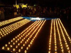 Estelada amb Espelmes - Encén la Flama a Montcada i Reixac #estelada #catalunya #montcadaireixac