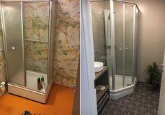 Dette badet ble nytt for under kroner Bad, Armoire, Toilet, Bathtub, Victorian, Interior Design, Bathroom, Furniture, Home Decor