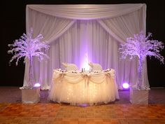 Sweetheart or Head Table Decor. Decor by SBD EVENTS | Flickr - Photo Sharing!