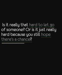 Hard or hope?