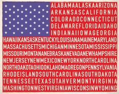 An American Type Flag