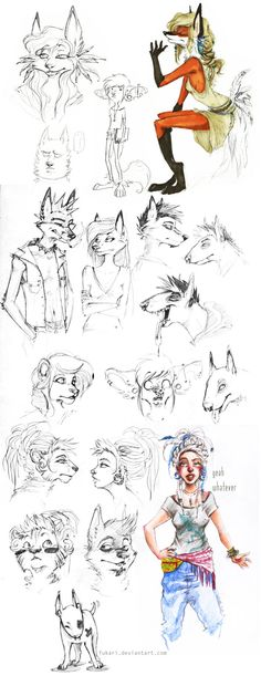 sketch dump by Fukari.deviantart.com on @deviantART