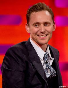Tom Hiddleston filming the Graham Norton Show at The London Studios 15.2.2017 From http://tw.weibo.com/torilla/4075843649591916
