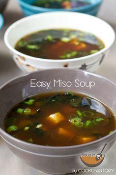 Quick Miso Soup Recipe @cookthestory