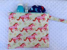 Zippered Waterproof Wet Bag by LexieLooo on Etsy