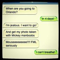 Gotta love Mickey Manboobs