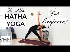 30 Min Hatha Yoga for Beginners - Gentle Beginners Yoga Class - Yoga Basics - YouTube