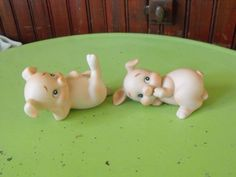 Vintage Lefton Pigs/Piglets Figurines Set of 2 by peacenluv72 on Etsy