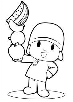 Desenhos para pintar Pocoyo 33