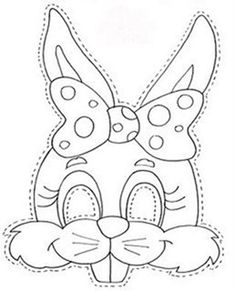 Colour it and cut-out, attach elastic and use as a mask.