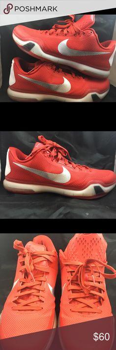 new concept a8c2c c5c36 Description  Nike Kobe X-Elite TB University Red WhiteSz no box.