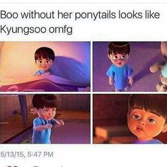 Discovered by Lucina ルキナ. Find images and videos about kpop, funny and exo on We Heart It - the app to get lost in what you love. Exo Ot12, Kaisoo, Kyungsoo, Chanyeol, K Pop, Funny Kpop Memes, Exo Memes, Kdrama Memes, Gumball