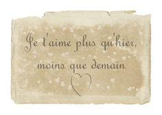 """French Love Phrases With English Translation English translation: """"i ..."""