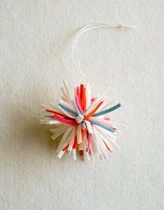 Felt Ornaments - the purl bee