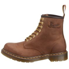 Brown Dr. Martens Men's 1460 Classic Boot