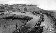 Tour Scotland Photographs: Old Photograph Harbour Crail East Neuk Of Fife Scotland
