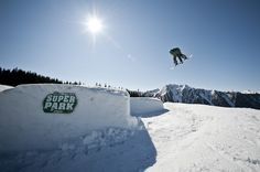 air time at the Horsefeathers Superpark Planai