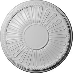 "19 7/8""OD x 1 1/4""P Leandros Ceiling Medallion (Fits Canopies up to 6 3/8"")"