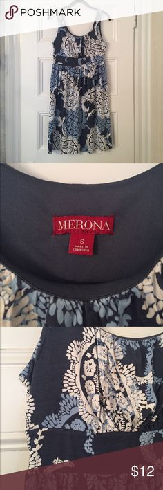 Merona summer dress! Size S. Merona summer dress! Size S (but runs larger). Soft material. Merona Dresses