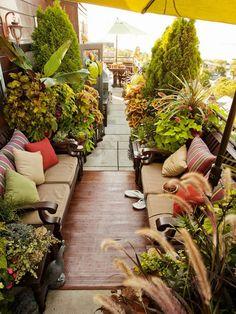 ↗️ 96 Cozy And Beautiful Patio Garden Design Turn Your Patio Into A Garden Paradise 77 Outdoor Rooms, Outdoor Gardens, Outdoor Living, Outdoor Decor, Outdoor Furniture, Outdoor Seating, Outdoor Ideas, Dream Garden, Home And Garden