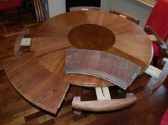 Expandable Round Dining Table 8 For On Room