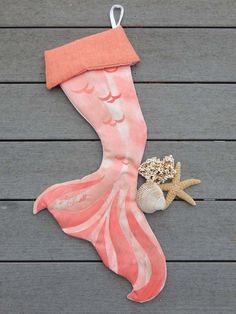 CrabbyChris Mermaid Christmas Stocking