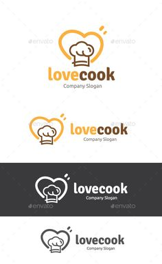 Love Cook — Vector EPS #restaurant #hat • Available here →…