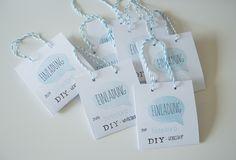 binedoro Blog - Einladung - DIY Workshop, Pappe, Papier, stempeln