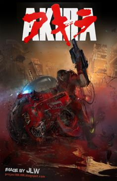 Akira (1988): A secret military project endangers Neo-Tokyo when it turns a biker gang member into a rampaging psionic psychopath that only two kids and a group of psionics can stop. (124 mins.) #movie