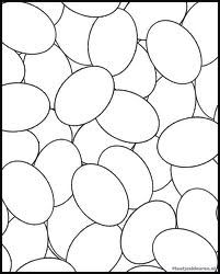 Easter egg coloring page Easter Worksheets, Easter Activities, Easter Coloring Pages, Coloring For Kids, Colouring Pages, Egg Coloring, Easter Art, Hoppy Easter, Rabbits