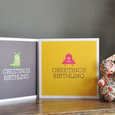 missingrache:  varietyshow:  These are the best gender neutral new baby greeting cards I have ever seen in my entire life.  Aaaaaa THAT IS S...