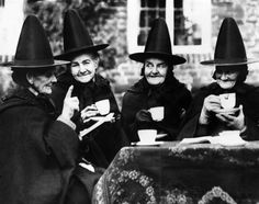 Found this while looking for a witches' coven for Predestination. So cute!