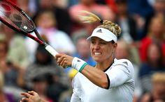 Download wallpapers Angelique Kerber, Tennis, WTA, German tennis player, portrait