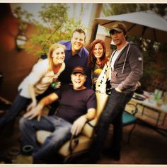 So fun when we're all together! #LongmireS5 via Cassidy Freeman