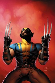 Wolverine: Astonishing X-Men variant cover By Gabriele Dell'Otto #Comics #Illustration #Drawing