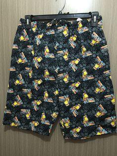 51816b24b9  14.95 AUD - Bnwt Mens Sz X Large Bart Simpson Short Style Cotton Button  Front Pyjama