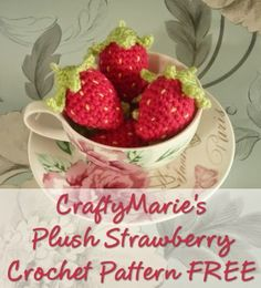 Mini Crochet Strawberry Pattern Free More