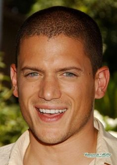 Prison Break.. look at that smile :)