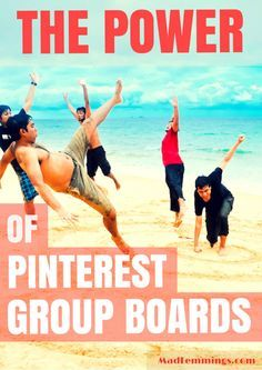 The Power of Pinterest Group Boards #pinterest #socialmedia madlemmings.com/...