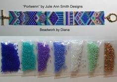 Portwenn by Julie Ann Smith Designs beaded bracelet kit (pattern sold separately)
