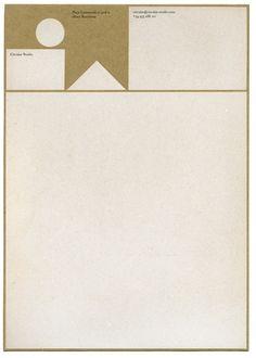 Briefbogen für z.B. Architektur