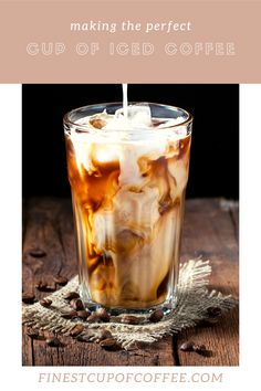 How to quickly and easily make some incredibly awesome iced coffee at home!