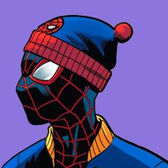 "laura-wilson: ""Miles Morales / Spider-Man || Champions #20 "" Black Cartoon Characters, Marvel Characters, Spiderman Art, Amazing Spiderman, Marvel Art, Marvel Heroes, Miles Morales Spiderman, Man Icon, Marvel Wallpaper"