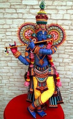 Sri krishna #quilling #handmade #vilyoo