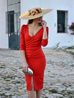 b3d9ed83a1 Vestido de fiesta Frunces Paloma - Vestido de fiesta corto - Vestido de  coctel - Madres