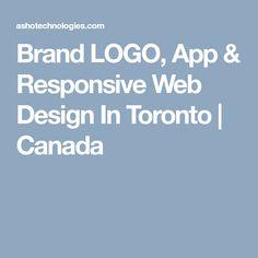 Asho Technologies build Branding LOGO, App & Responsive Web Design We offer you a complete range of solution regarding Design in Toronto Logo Branding, Logos, Responsive Web Design, Toronto Canada, App, Apps, Logo